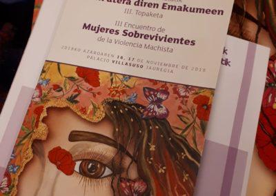 III encuento de mujeres sobrevivientes-cartel