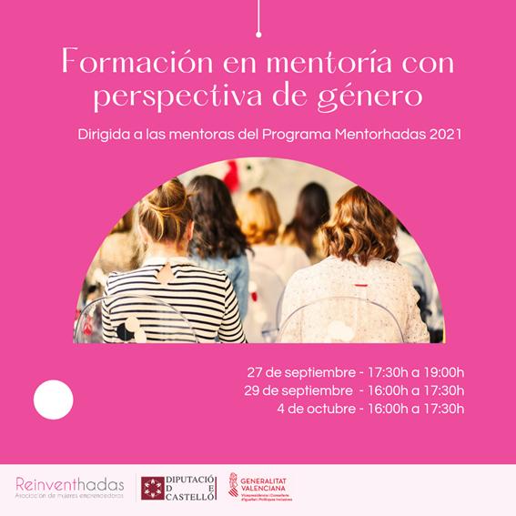 Formación en mentoría con perspectiva de género con Reinventhadas