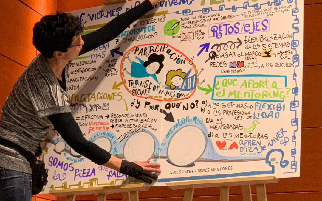 Ilustrar mujeres, ilustrar mentoras: Mercedes Corretge